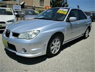 2007 Subaru Impreza 2.0I Luxury (AWD) MY07 Sedan