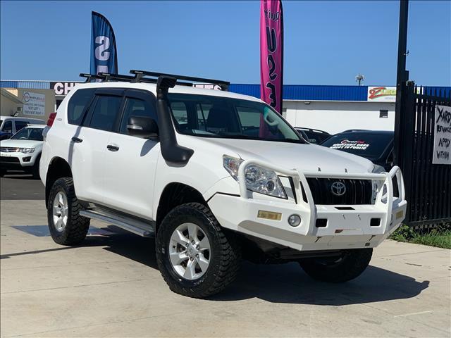 0ad9f0dd68a1f7 Used 2011 2011 Toyota Landcruiser Prado KDJ150R GX Wagon 5dr Man 6sp ...