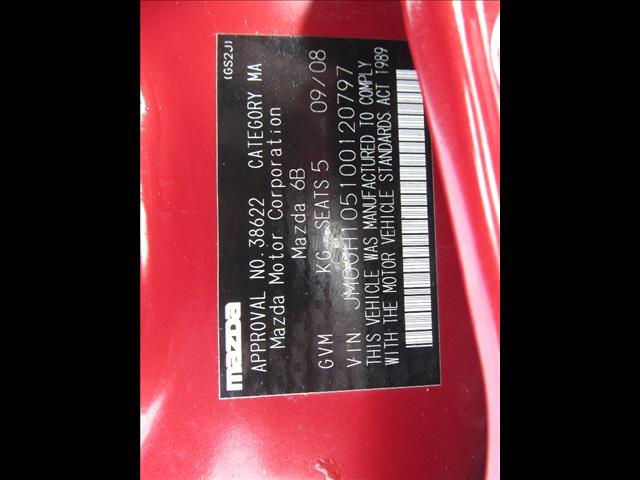 2008 MAZDA MAZDA6 SPORTS GG MY07 4D WAGON