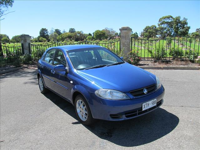 2008 HOLDEN VIVA JF MY08 UPGRADE 5D HATCHBACK
