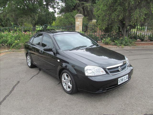 2007 HOLDEN VIVA JF MY08 4D SEDAN