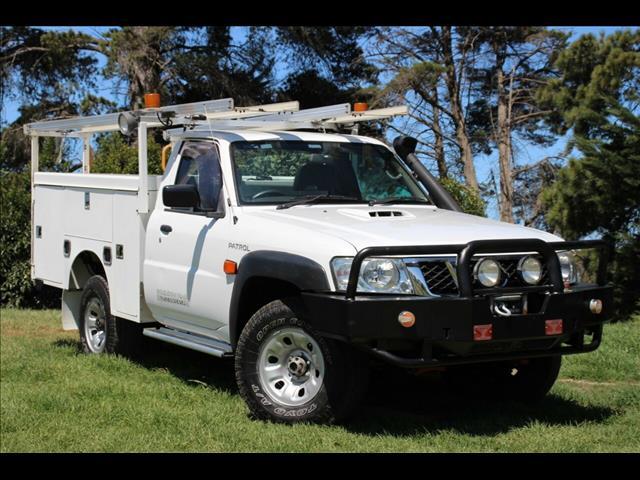 2012 Nissan Patrol DX Y61 GU 6 SII MY13 Cab Chassis