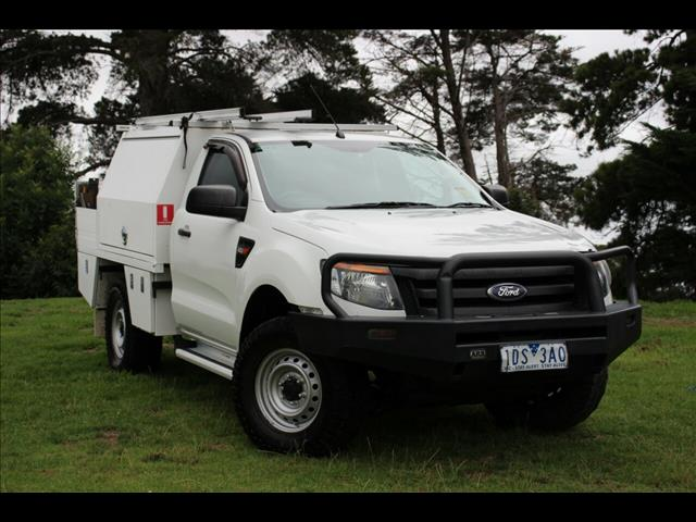 2014 Ford Ranger XL Hi-Rider PX Cab Chassis