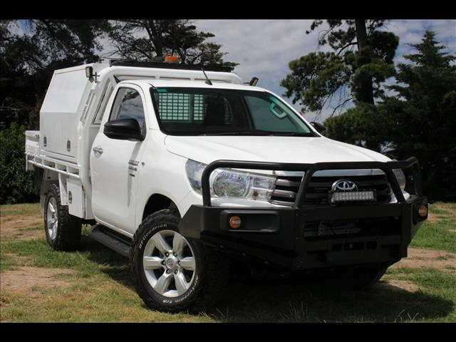 2017 Toyota Hilux SR GUN126R Cab Chassis