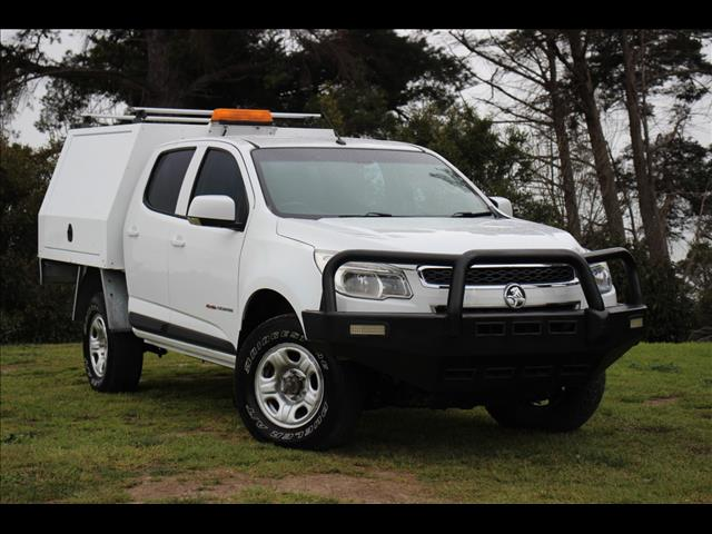 2015 Holden Colorado LS Crew Cab RG MY15 Cab Chassis