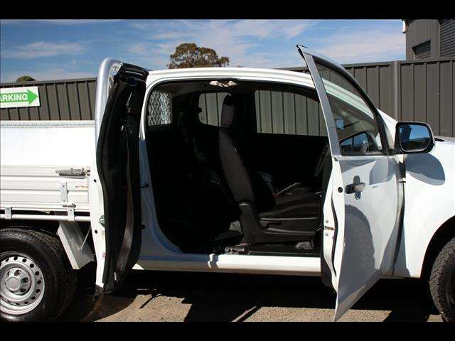 2015 Isuzu D-MAX SX Space Cab MY15 Cab Chassis