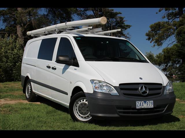 2012 Mercedes-Benz Vito 113CDI LWB 639 MY11 Van