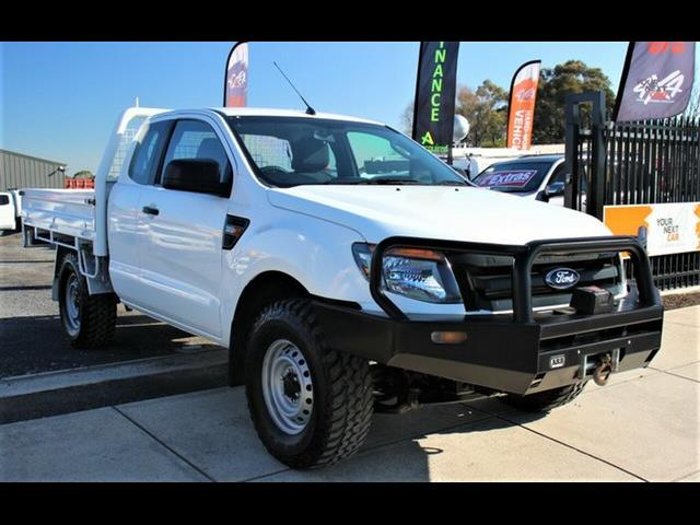 2013 FORD RANGER XL 3.2 (4x4) PX SUPER C/CHAS
