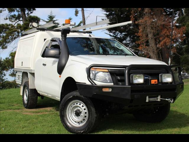 2014 Ford Ranger XL PX Cab Chassis