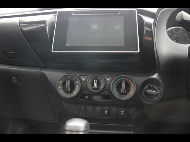 2017 Toyota Hilux SR GUN126R Cab Chassis