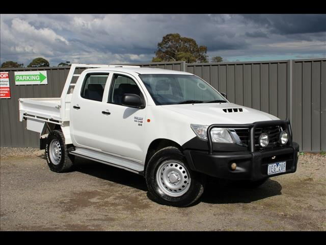 2015 Toyota Hilux SR Double Cab KUN26R MY14 Cab Chassis