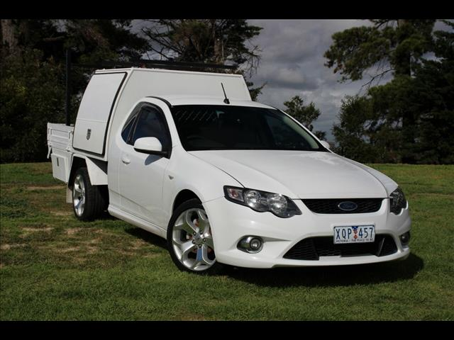 2010 Ford Falcon XR6 Super Cab FG Cab Chassis