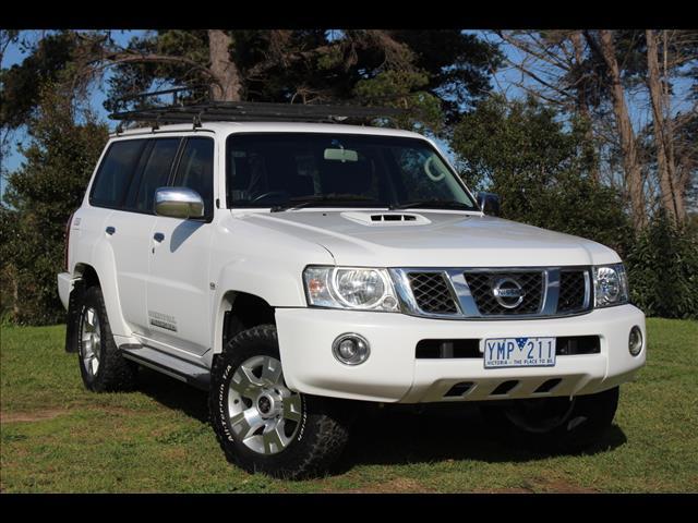 2011 Nissan Patrol ST GU 7 MY10 Wagon