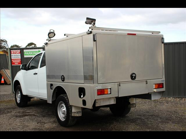 2014 Isuzu D-MAX SX Space Cab MY15 Cab Chassis