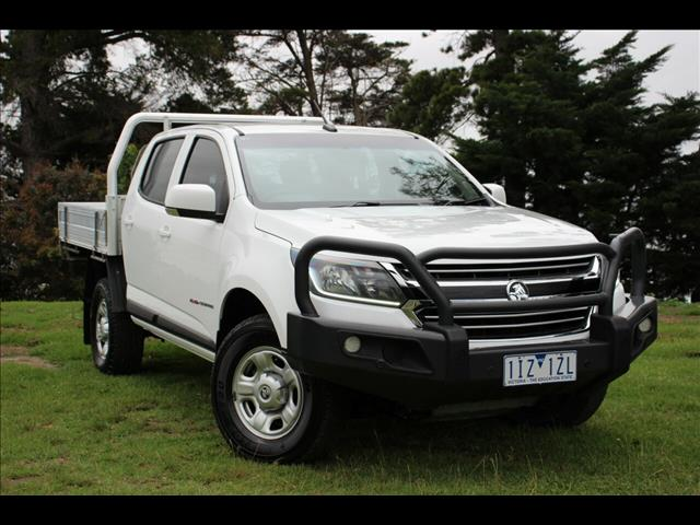 2016 Holden Colorado LS Crew Cab RG MY17 Cab Chassis
