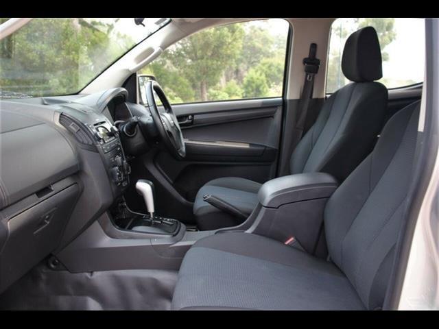 2015 ISUZU D-MAX SX (4x4) TF MY15 CREW CAB UTILITY