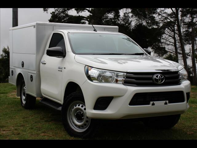2016 Toyota Hilux SR GUN126R Cab Chassis