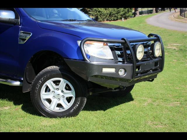 2012 Ford Ranger XLT Double Cab PX Utility