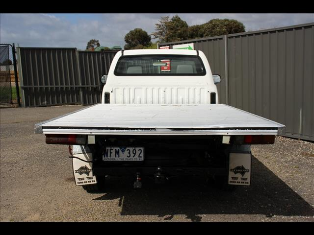 2008 Toyota Hilux SR 4x2 KUN16R MY09 Cab Chassis