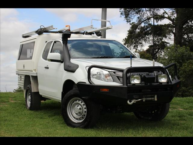 2014 Isuzu D-MAX SX Space Cab MY14 Cab Chassis