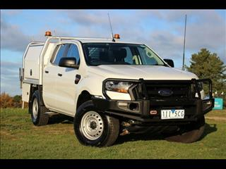 2016 FORD RANGER XL 3.2 (4x4) PX MKII C/CHAS