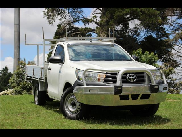 2015 Toyota Hilux Workmate 4x2 GUN122R Cab Chassis