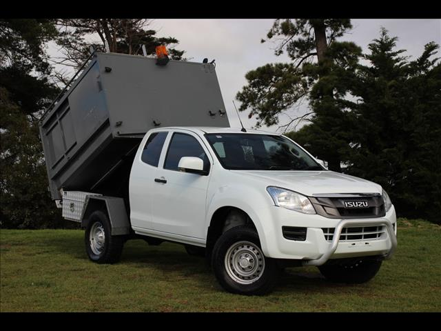 2016 Isuzu D-MAX SX Space Cab MY15 Cab Chassis