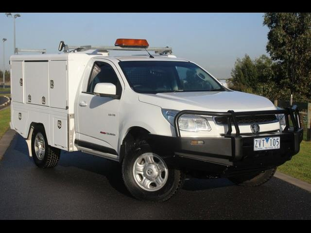 2013 HOLDEN COLORADO LX (4x4) RG C/CHAS