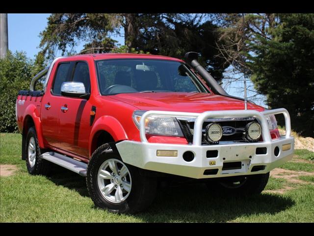 2010 Ford Ranger XLT Crew Cab PK Utility