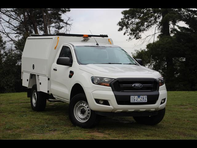 2015 Ford Ranger XL Hi-Rider PX MkII Cab Chassis