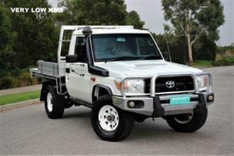 2013 TOYOTA LANDCRUISER WORKMATE (4x4) VDJ79R MY12 UPDATE C/CHAS