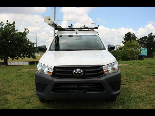 2019 Toyota Hilux Workmate 4x2 TGN121R Cab Chassis