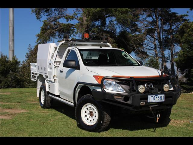 2013 Mazda BT-50 XT UP0YF1 Cab Chassis