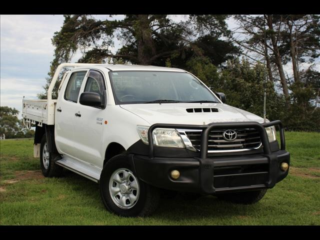 2012 Toyota Hilux SR Double Cab KUN26R MY12 Cab Chassis