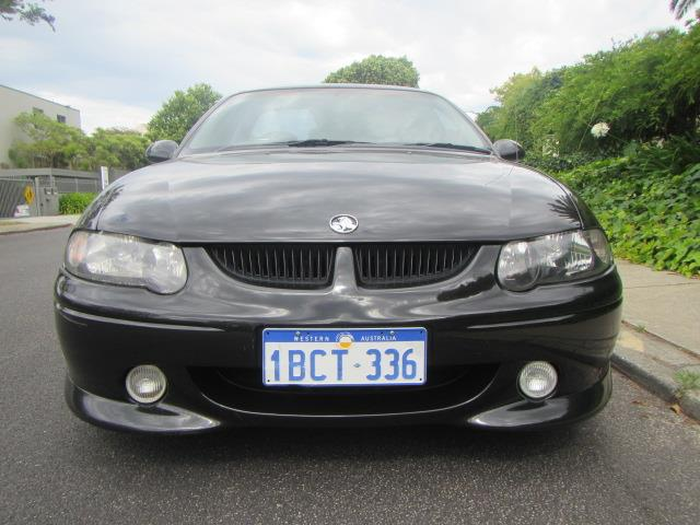 2001 HOLDEN COMMODORE SS VUII UTILITY