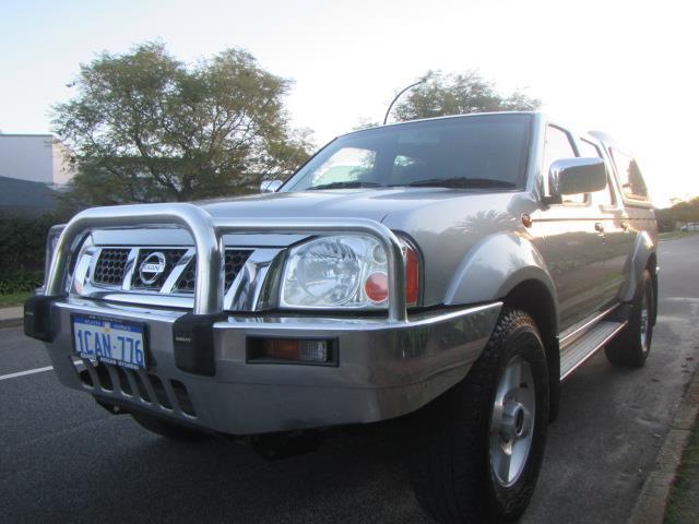 2005 NISSAN NAVARA ST-R 4X4 D22 DUAL CAB PUP