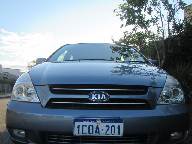 2007 KIA GRAND CARNIVAL EX LUXURY VQ 4D WAGON