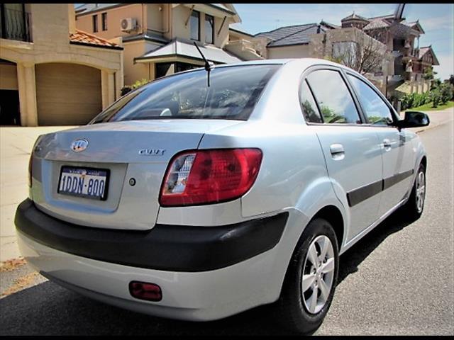 2008 KIA RIO EX JB 4D SEDAN