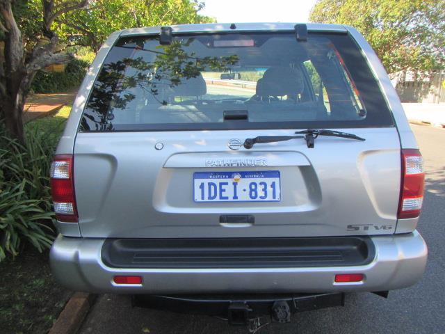 2002 NISSAN PATHFINDER ST 4X4 MY03 4D WAGON