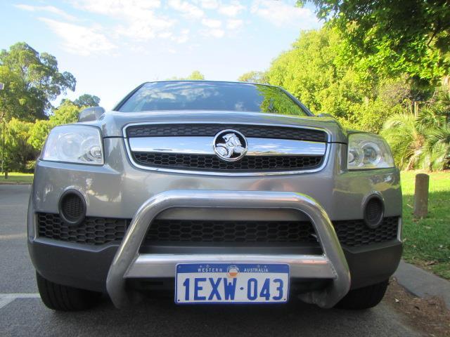 2009 HOLDEN CAPTIVA SX 4X4 CG MY09 4D WAGON