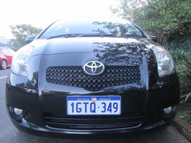 2008 TOYOTA YARIS RUSH NCP90R 5D HATCHBACK