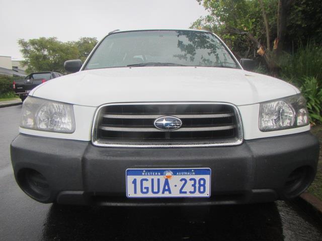2005 SUBARU FORESTER X MY06 4D WAGON