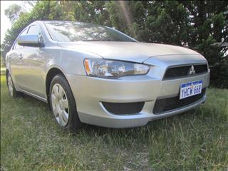2011 MITSUBISHI LANCER ES CJ MY12 4D SEDAN
