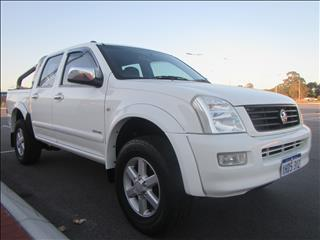 2005 HOLDEN RODEO LX RA MY06 UPGRADE CREW CAB PUP
