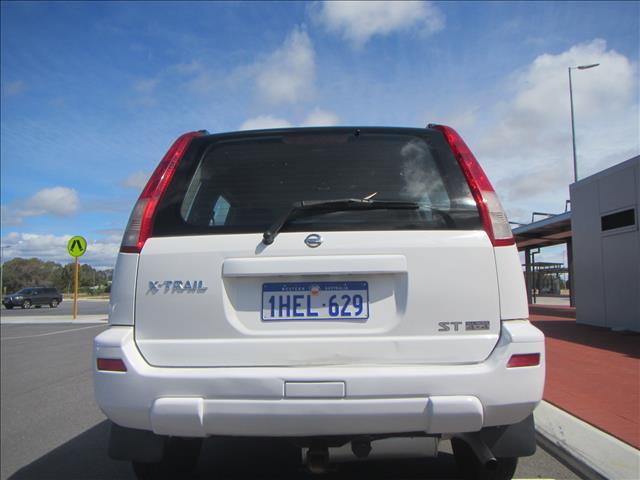 2002 NISSAN X-TRAIL ST 4X4 T30 4D WAGON
