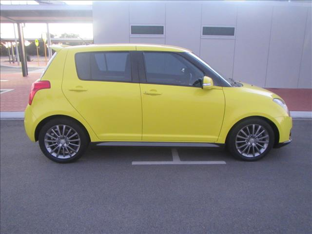 2010 SUZUKI SWIFT SPORT EZ 07 UPDATE 5D HATCHBACK