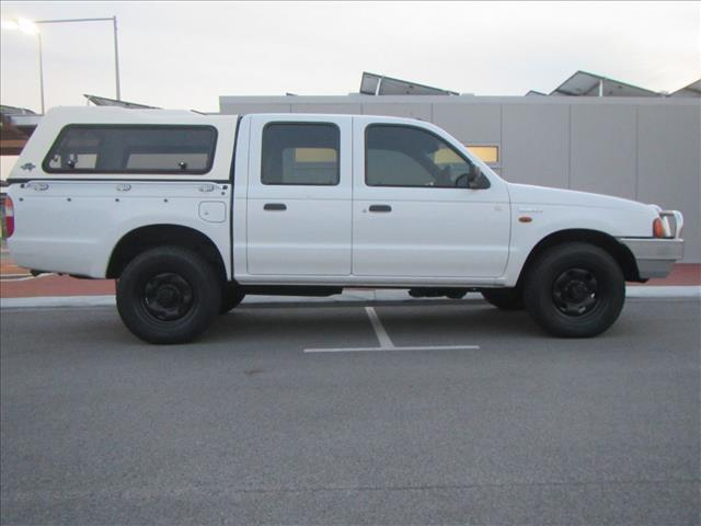 1999 FORD COURIER GL 4X4 PE CREW CAB PUP