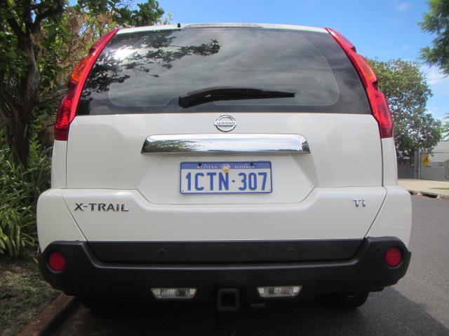 2008 NISSAN X-TRAIL TI 4X4 T31 4D WAGON