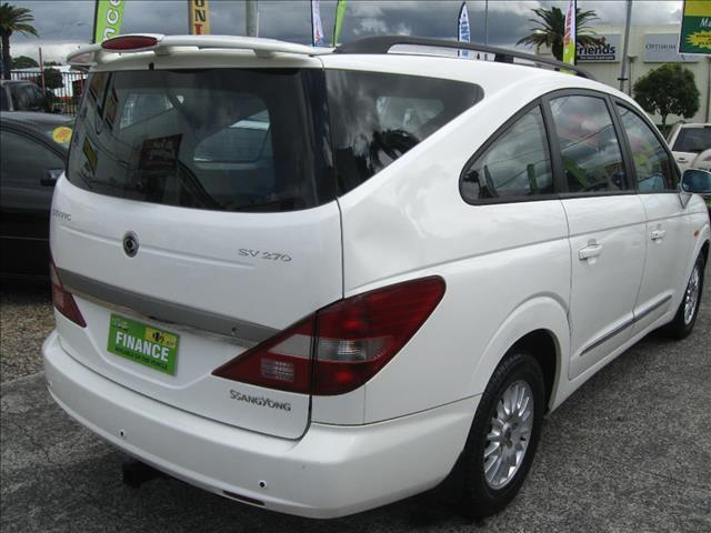 2006 SSANGYONG STAVIC Limited A100 WAGON