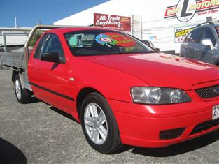 2006 FORD FALCON UTE XR6 BF Mk II CAB CHASSIS
